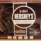 CANDEEZ 3-IN-1 HERSHEY'S STEREO COMBO PACK MISSING MINI STEREO SPEAKER 3.5mm