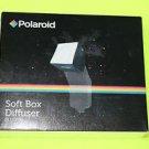 "NEW Polaroid Mini Universal Studio Soft Box Flash Diffuser (3.5"" x 3.5"" Screen)"