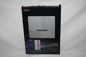 "Toshiba colored back cover Silver sky / 10"" Toshiba Tablet NIP"