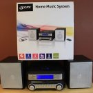 NEW GPX HC221B HOME MUSIC SYSTEM CD PLAYER AM/FM AUDIO INPUT REMOTE CONTROL