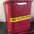 "PROTECTOSEAL OILY WASTE CAN 1404 RED 14 GALLON 16"" x 16"" x 19"""