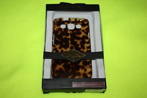 NEW CASEMATE GENUINE TORTOISESHELL CELL PHONE CASE FOR SAMSUNG GALAXY SIII S3