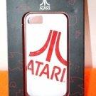 NEW ATARI IPHONE 5 RIGID PLASTIC PHONE CASE WHITE AND RED
