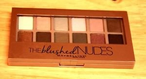 """NEW MAYBELLINE NEW YORK """"THE BLUSHED NUDES"""" EYE SHADOW FREE SHIPPING"""