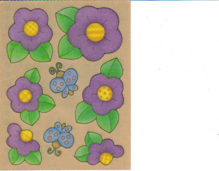 Provo Craft Purple Buds Biggies Stickers