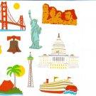 Mrs Grossman's Land Mark Stickers