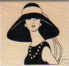 Rubber Stampede Woman in Hat