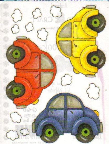 Provo Craft Biggies Stickers Beep, Beep