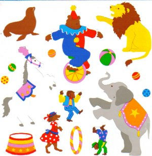 Mrs Grossman's Stickers Circus - CLEARANCE