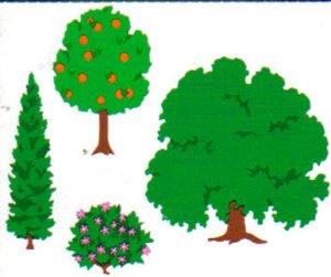 Mrs Grossman's Stickers Trees