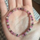Pink Multi-colored Bracelet