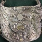 Women's Michael Kors Snakeskin Medium Size Purse Shoulder Handbag