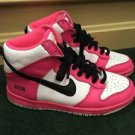 Nike Women's Pink White And Black Sneakers. Size 6. 605246-991