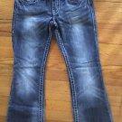 Women's Harley Davidson Jeans Size 4 Short Medium wash Boot Cut Vintage