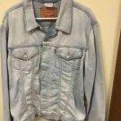 Men's Xl Light wash Vintage Levis Strauss Jean Jacket