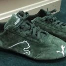 Women's Puma Green Tennis Shoes. Size 9.5