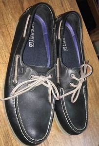 """Nice! Mens Leather """"Sperry Top-Sider Leeward"""" Boat Shoes - Size US 11.5"""