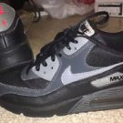 Black/grey Nike Air Max Sneakers Youth Size 6.5Y 307793-070