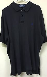 Men's Xl Black Polo By Ralph Lauren Short Sleeve Polo Shirt