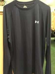 Under Armour Blue Long Sleeve Shirt. New With Tags. Size Medium