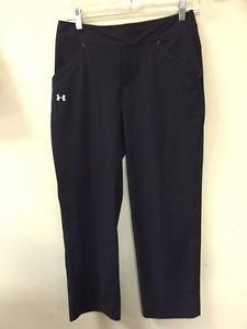 UNDER ARMOUR Performance Women's Size 2 Black Golf Athletic Pants Retail$139