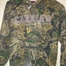 Women's Cabela's Camouflage Pull Over Hoodie. Size Small