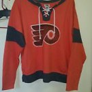 Women's nhl official flyers orange long sleeve shirt size large