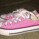 Kids Girls Size 12 Pink Converse All-Star Chuck Taylor Sneakers Shoes