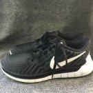 $147 Retail Nike Free 5.0 White / Black Running Shoes 724383-002 Womens US 7.5