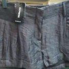 Women's size 4 dark gray Express shorts. NWT retail $49.90
