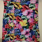 Women's Victoria's Secret PINK Skirt, Small, Pink Red And Yellow Flowered