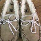 UGG Dakota Tabacco Women's Moccasins Slippers Shoes Sz 8