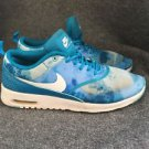 NIKE AIR MAX Thea Print 599408-401  Women SIZE 7 LIGHT BLUE LACQUER