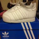White Baby Toddler Sz 3 Adidas Samoas Sneakers Shoes