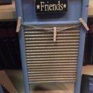 Primtive Wash Board Picture Frame Hanger