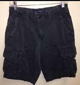 Men's Size 30 Dark Grey Vintage American Eagle Cargo Shorts