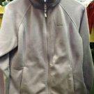 Women's Columbia Fleece Purple Long Sleeve Zip Up Sweatshirt. Size Large