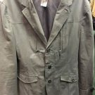 Armani Exchange Women's Size Medium Peacoat. Gray. Button Up