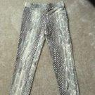 Women's Express Snakeskin Print XSmall Leggings