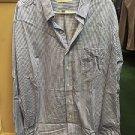 Michael Kors Plaid Button Up Dress Shirt Xxl 18