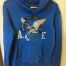 Men's Small Blue Hoodie America Eagle
