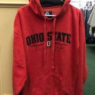 Men's Large Red Ohio State Buckeyes Football Pullover Hoodie Sweatshirt