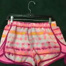 Youth Xl Girls Under Armour Shorts Bright Neon Pink White Purple