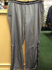 Women's Under Armour Gray And Black Sweatpants. Size Medium