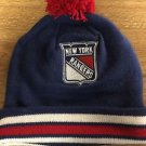 Mitchell & Ness New York Rangers Blue Vintage Big Man Hi-Five Cuffed Knit Hat