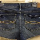 Sz 8 Ladies Abercrombie And Fitch Jean Shorts Stretch Medium Wash