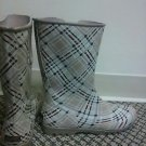 Womans sperry rain boots size 9 tan