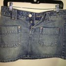 American Eagle Size 4 Button Fly Jean Skirt New With Tags