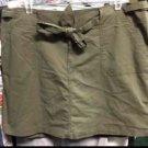 NWT Lane Bryant Venezia Size 20 Skirt Olive Green