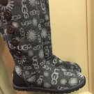 Ugg Boots Signature Logo Grey Limited edition New Wo Box  Size 6